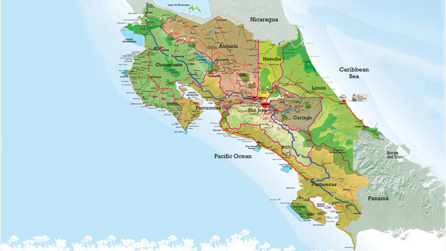 Costa Rica Facts: provinces, the capital, holidays...