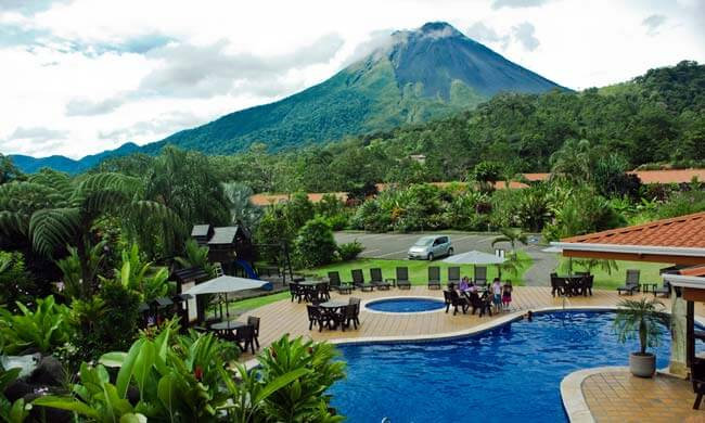 Arenal volcano hotels volcano lodge amp springs in la fortuna