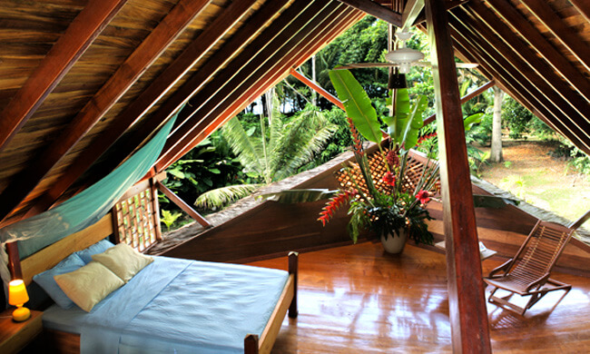 Tree house costa rica tree house rental homes in caribbean for Costa rica vacations rentals