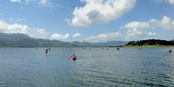 Stand up Paddling on Arenal Lake