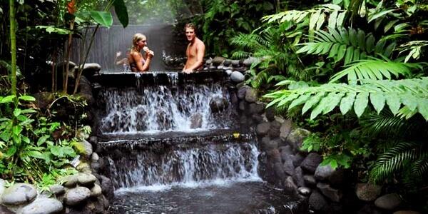 Hanging Bridges & Ecotermales Hot Springs
