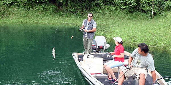 Sport Fishing on Lake Arenal