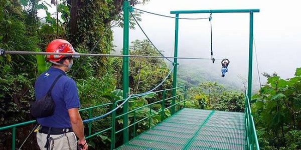 Sky Trek in Monteverde