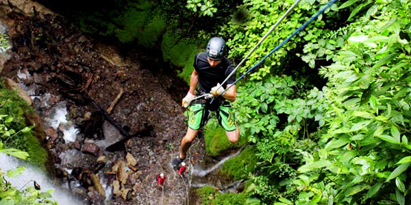 Canyoning Waterfall Rappel