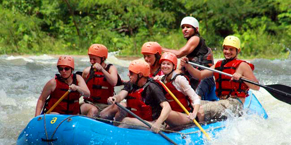 White Water Rafting Naranjo River