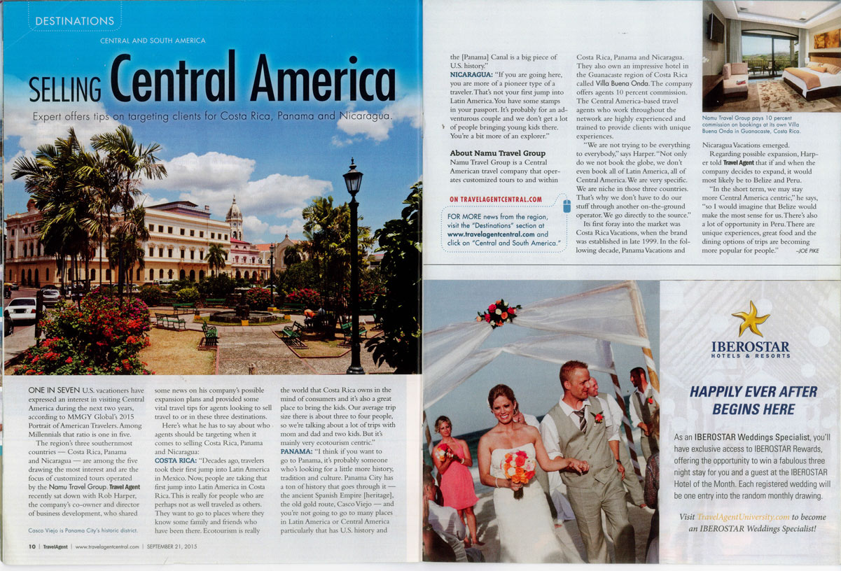 Travel Agent, September 21, 2015 Issue | Namu Travel Group