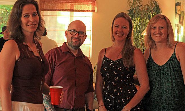 The CRV staff. Wanda, Aidan, Shay & Becca.