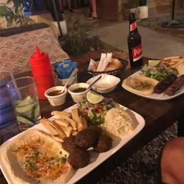 Zula restaurant with cozy atmosphere, Santa Teresa, Costa Rica.