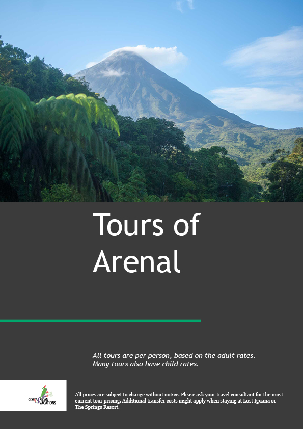 Arenal Volcano Day Tours