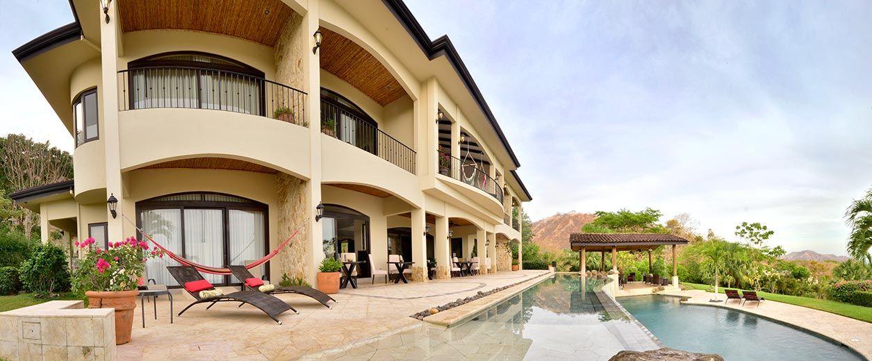 Villa Buena Onda from pool area